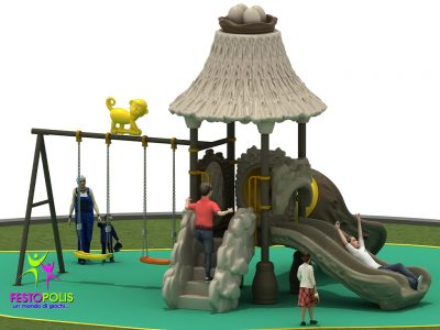 Playground Uso Esterno Capanna -1- FEPE 16018 A