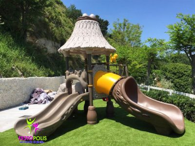 Playground Uso Esterno Capanna -4- FEPE 16018 A