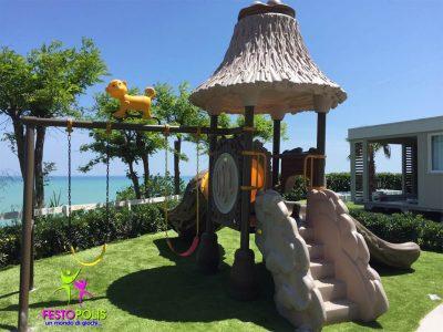 Playground Uso Esterno Capanna -5- FEPE 16018 A