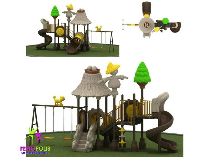 Playground Uso Esterno Capanna -1- FEPE 16018 B