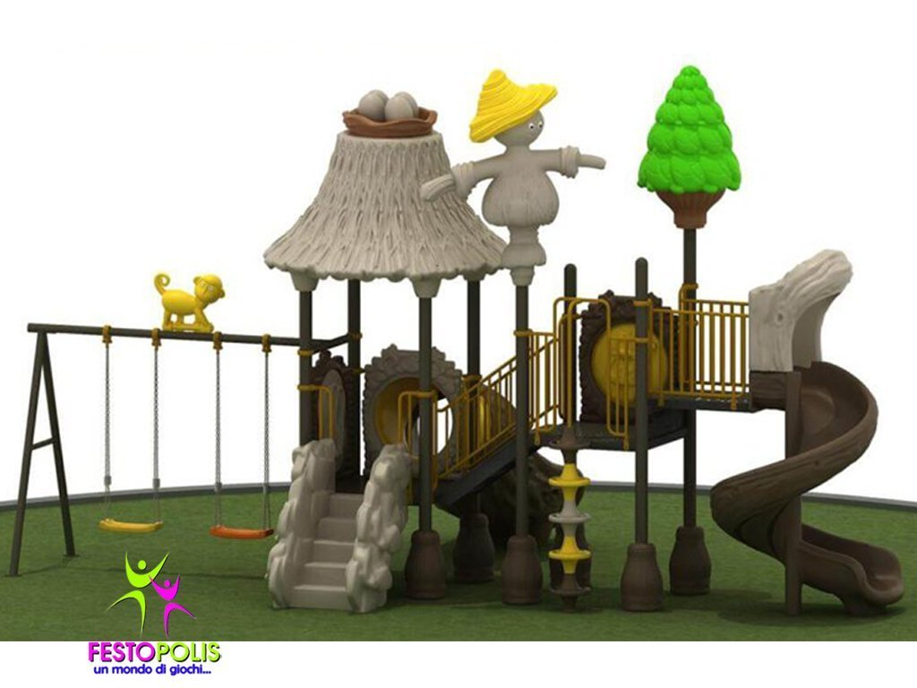 Playground Uso Esterno Capanna -2- FEPE 16018 B