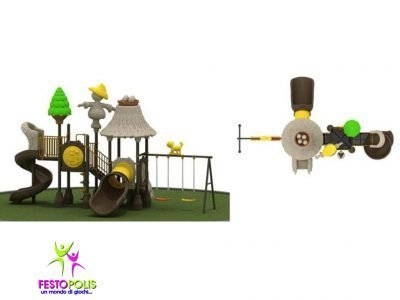Playground Uso Esterno Capanna -3- FEPE 16018 B