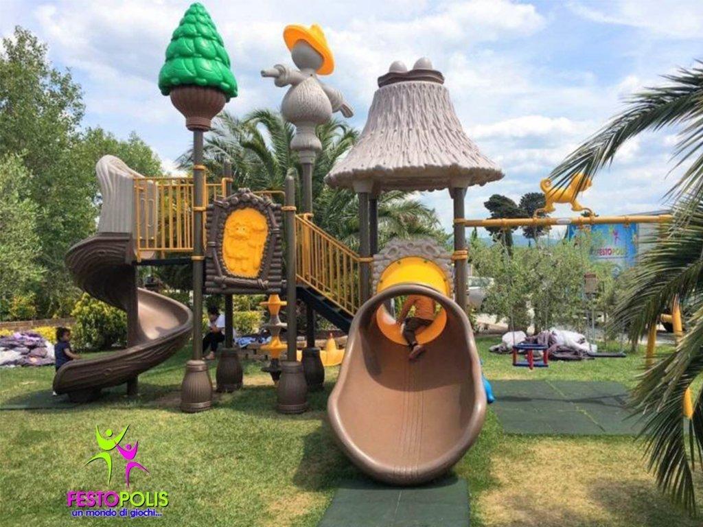 Playground Uso Esterno Capanna FEPE 16018 B