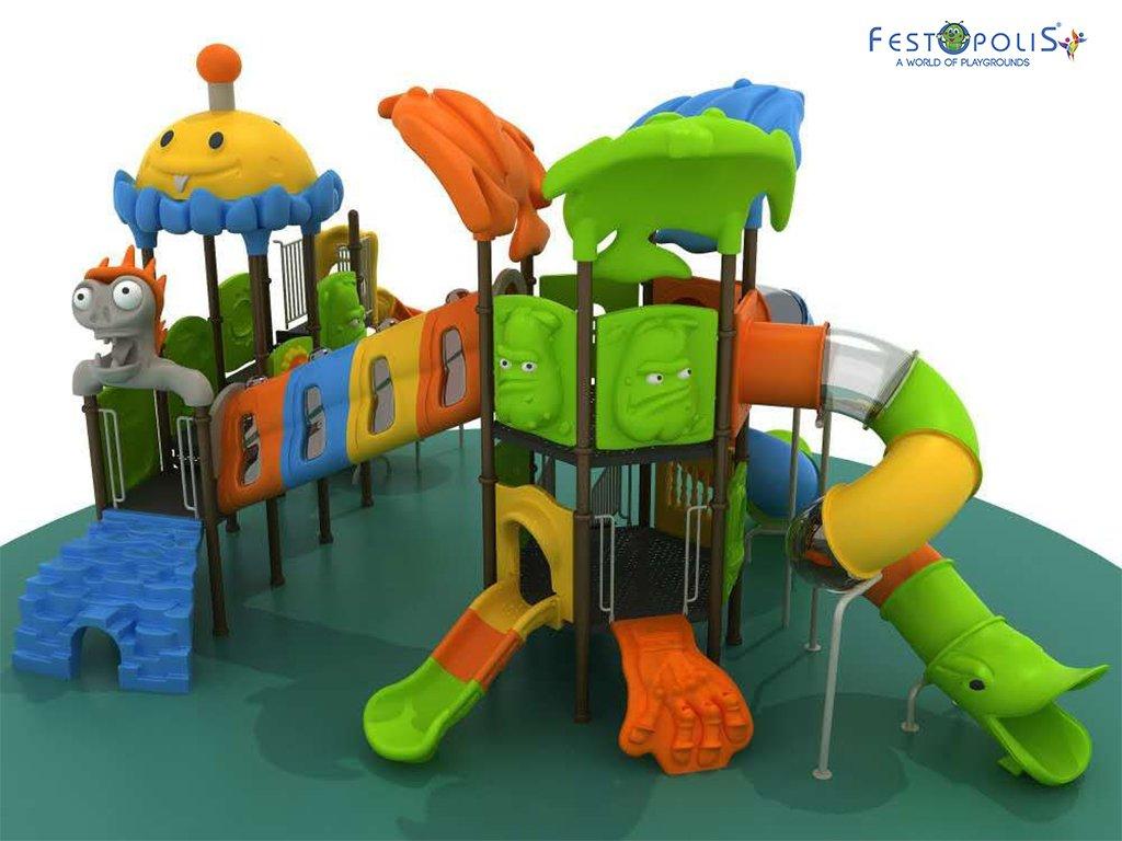 Playground Da Esterno Per Stabilimenti Balneari, Villaggi Turistici, Parchi Gioco e Aree Gioco Esterne. Gioco esterno colorato e divertente.-3-FEPE 170562 B