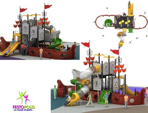 Playground Uso Esterno Mare FEPE-17120 A