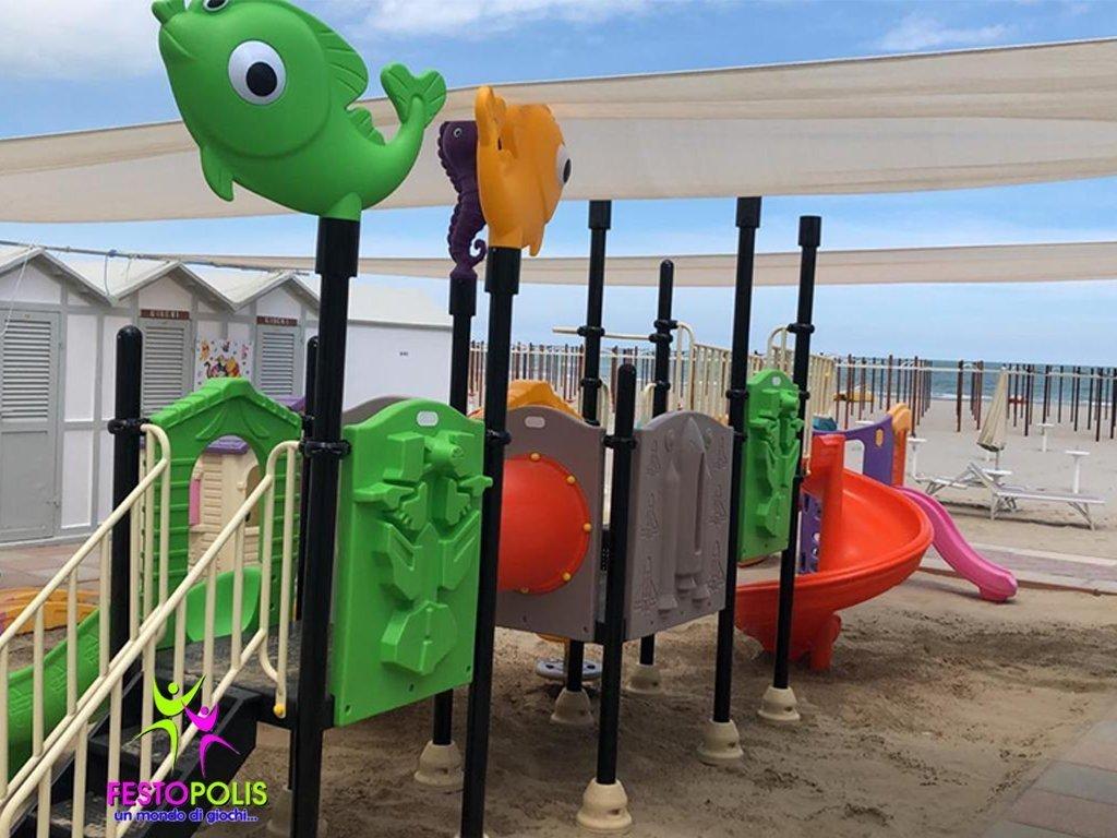 Playground Uso Esterno Mare -1- FEPE 17186 AM
