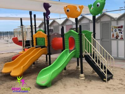 Playground Uso Esterno Mare -2- FEPE 17186 AM