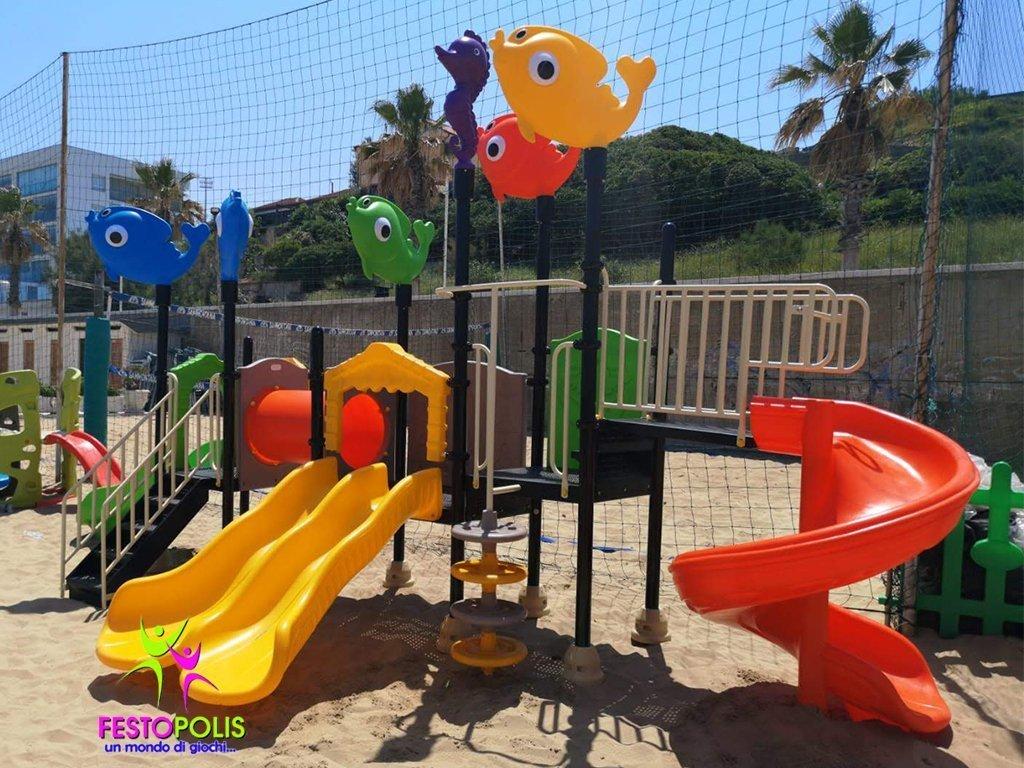 Playground Uso Esterno Mare -6- FEPE 17186 AM