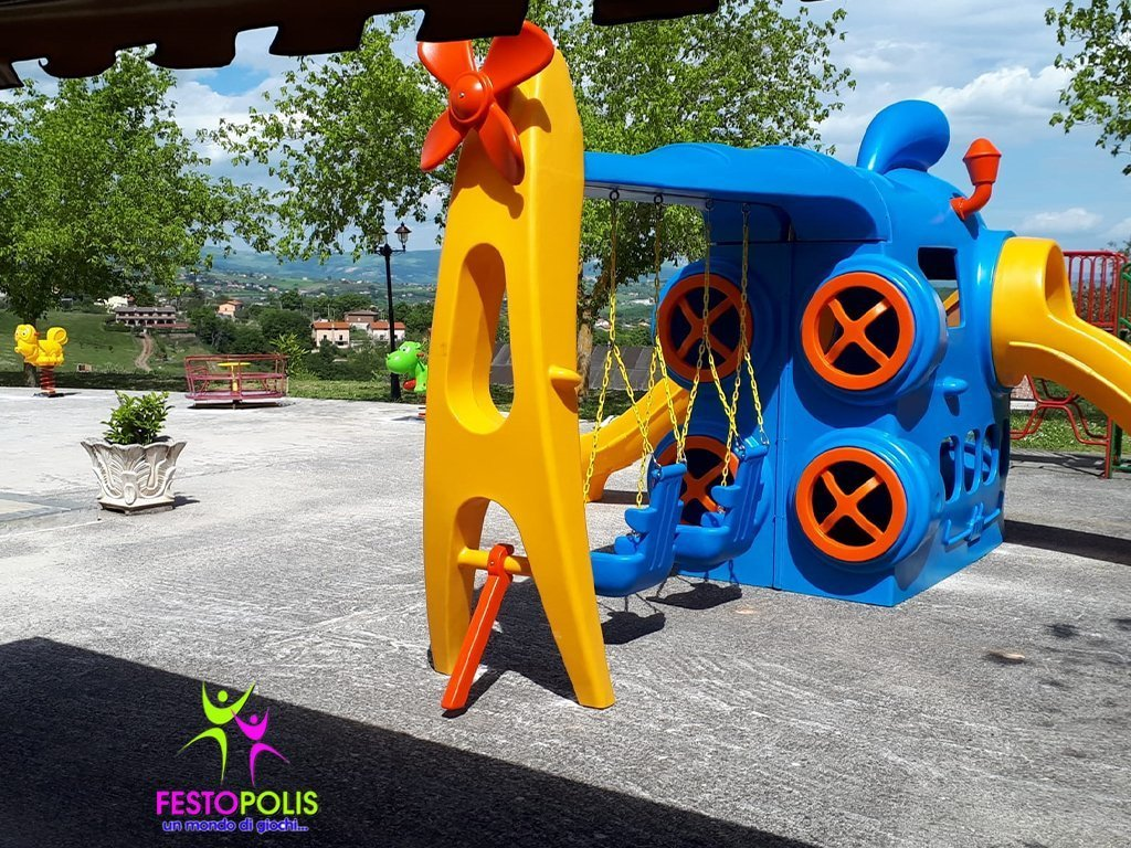 Playground Combinato Sottomarino Big FEPE 0401 3