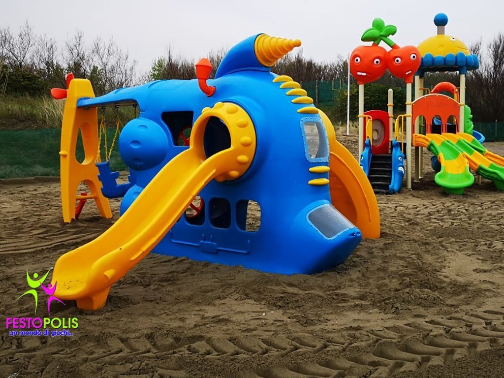 Playground Combinato Sottomarino Big FEPE 0401 5