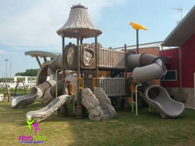 Playground Uso Esterno Capanna -1- FEPE 17024 A