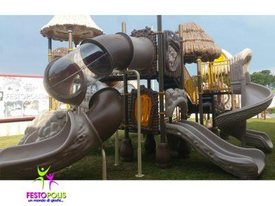 Playground Uso Esterno Capanna -2- FEPE 17024 A