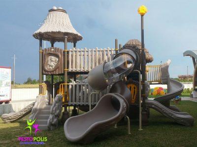 Playground Uso Esterno Capanna -3- FEPE 17024 A