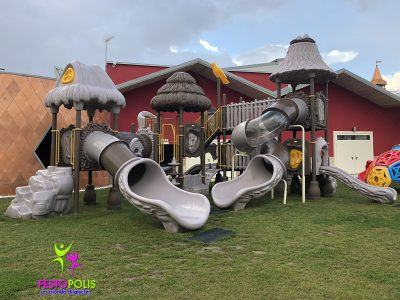 Playground Uso Esterno Capanna -4- FEPE 17024 A