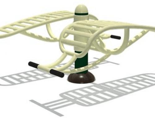 Attrezzatura Ginnastica – Double Sit-Up – FEFT-16106