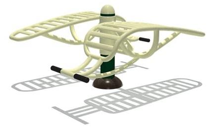 Attrezzatura per la ginnastica all'aperto Festopolis FEFT 16016
