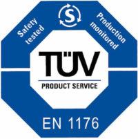 Certificazione TUV EN 1176 Strutture Festopolis