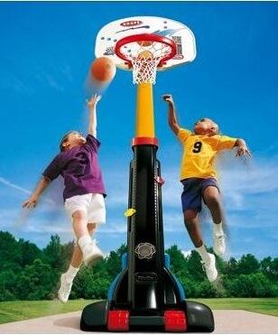 Gioco in plastica pallacanestro regolabile con ruote Festopolis FEGP 044