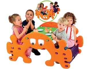 Gioco in plastica tavolo dondolo fantasmino Festopolis FEGP 032