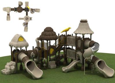 Struttura Playground Capanna Per Esterno Festopolis FEPE 17024A