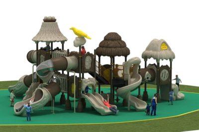 Struttura Playground Capanna Per Esterno Festopolis FEPE 17024A - 2