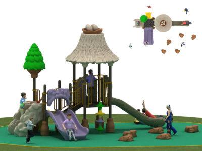 Struttura Playground Capanna Per Esterno Festopolis FEPE 17043A