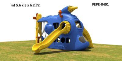 Gioco Da Esterno Combinato Big Festopolis FEPE 0401 - 2