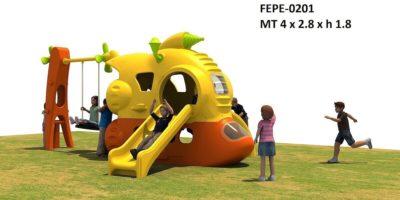 Gioco Da Esterno Combinato Medium Festopolis FEPE 0402 - 2