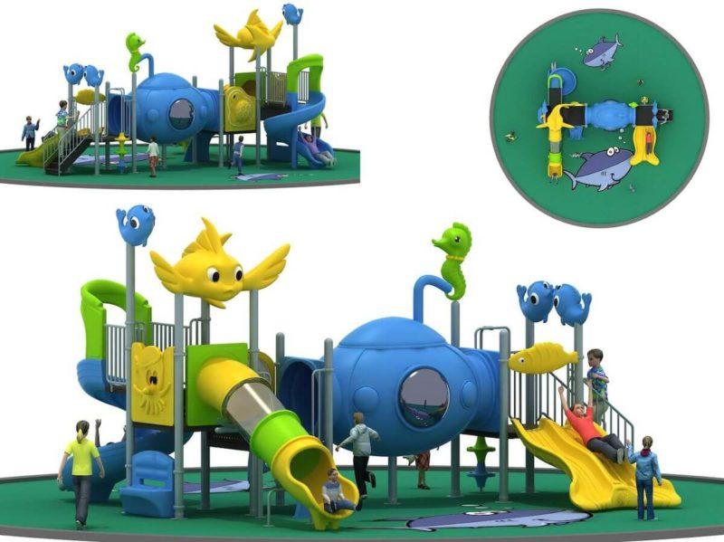 Gioco Playground Esterno Mare FEPE 16058 Festopolis
