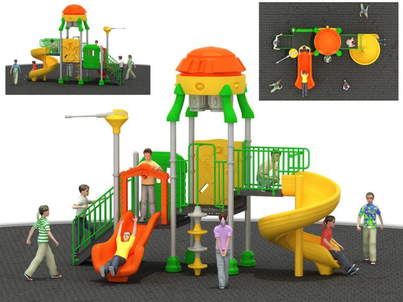 Gioco Da Esterno Playground Spazio Festopolis FEPE 16212BS