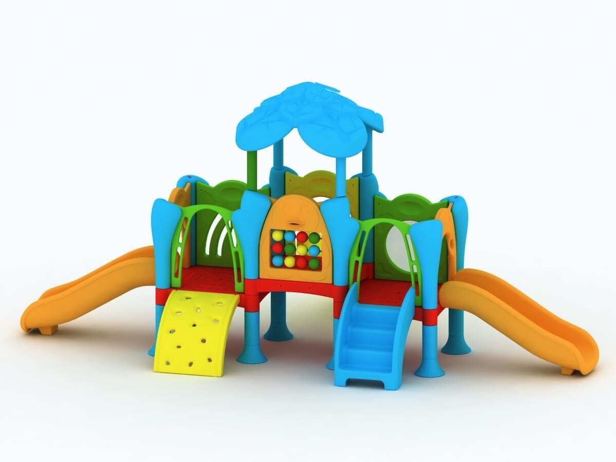 Struttura Playground Da Esterno Polietilene Festopolis FEPE 417
