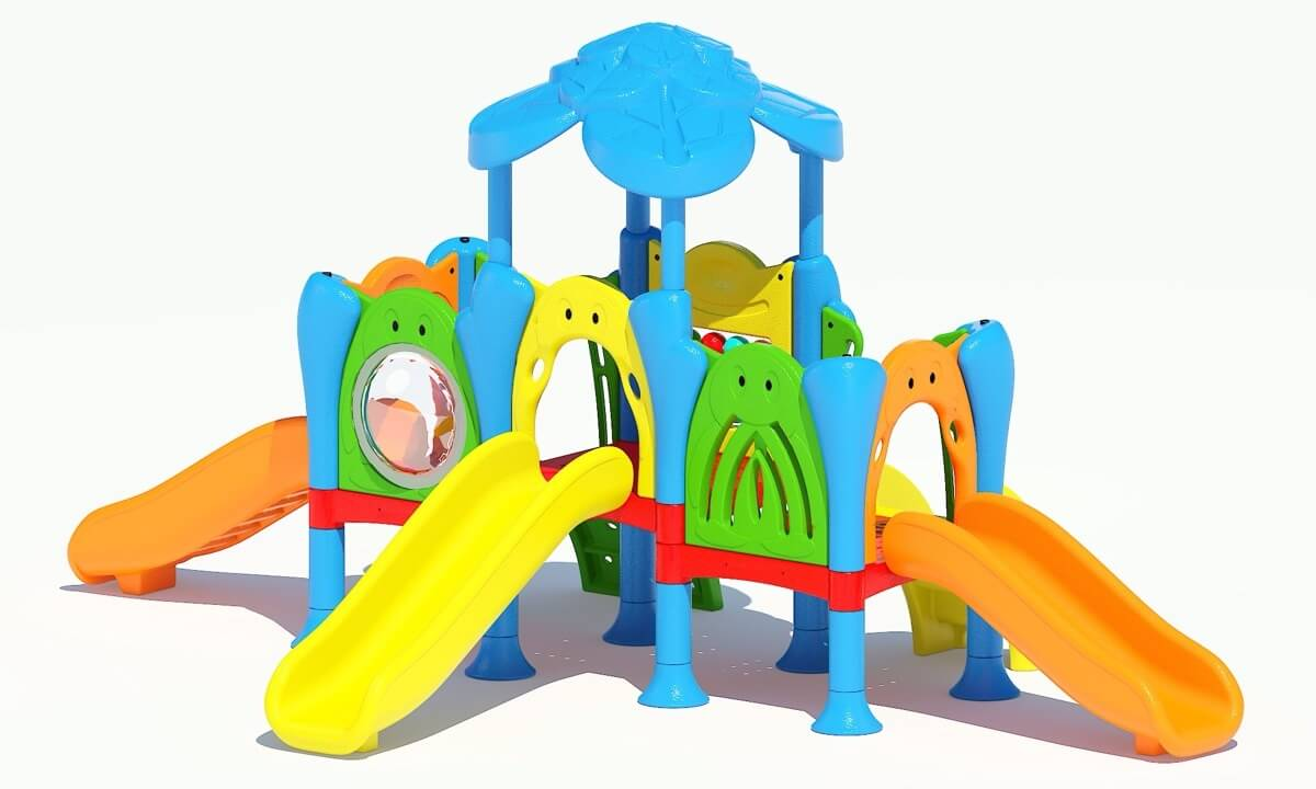 Struttura Playground Da Esterno Polietilene Festopolis FEPE 417 - 5