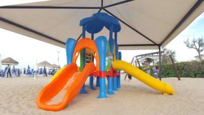 Struttura Playground Da Esterno Polietilene Festopolis FEPE 417 - 4