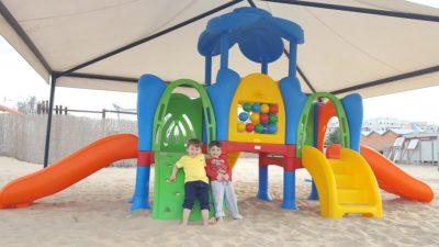 Struttura Playground Da Esterno Polietilene Festopolis FEPE 417 - 3