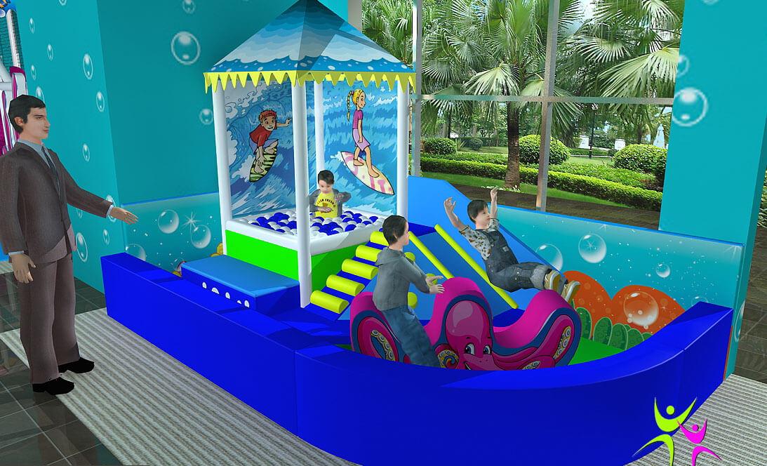 Area Soft Baby Ocean Festopolis FEAS-021