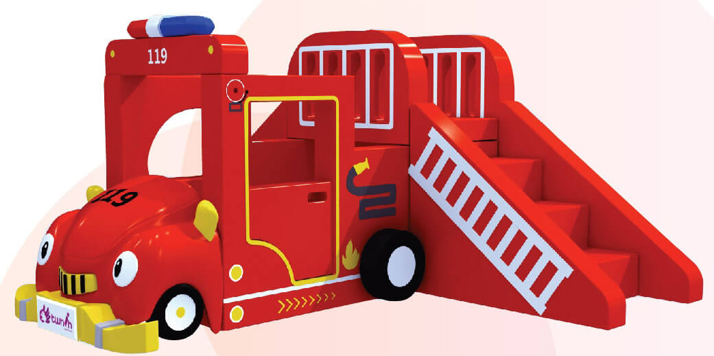 Area Soft Camion dei pompieri Festopolis FEAS-034 1