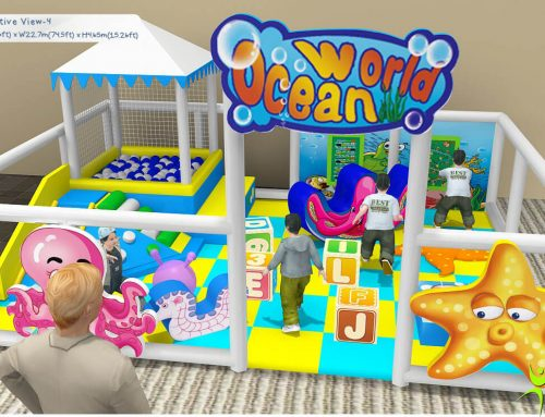 Gioco Per Interno Area Baby Indoor FEAS-024