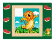 Area Soft Puzzle giungla Festopolis FEAS-068