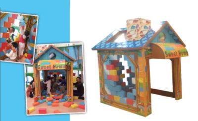 Giochi interattivi Costruisci la tua casa FEGI-008