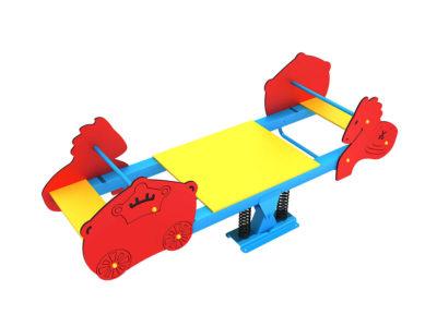 Giochi per esterno Maxi bilico a molla quadruplo zoo Festopolis FEGE 17302 C