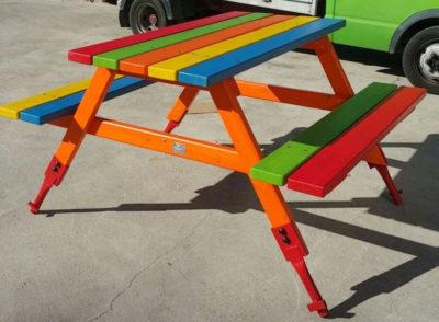 Giochi per esterno Panchina Multicolor Festopolis FEGE 4702 B