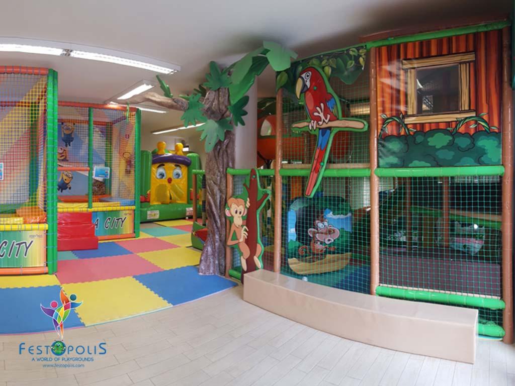Playground Uso Interno Birba City FEPI 057 3