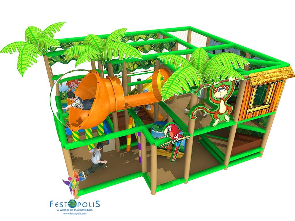 Playground Uso Interno Birba City FEPI 057 4