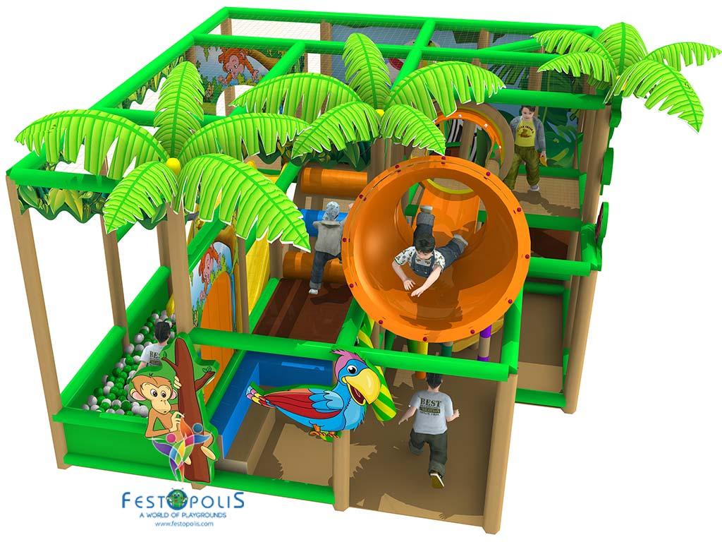Playground Uso Interno Birba City FEPI 057 5