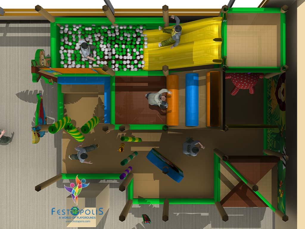 Playground Uso Interno Birba City FEPI 057 6