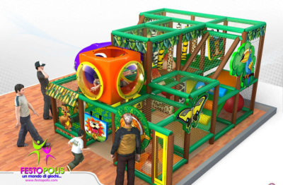 Playground uso interno Adventure land Festopolis FEPI-001C 3