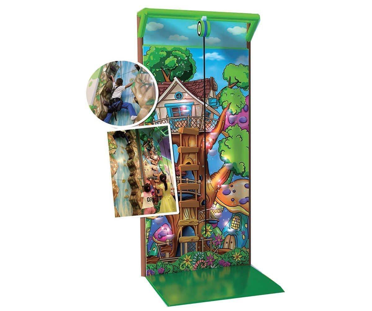Playground uso interno Arrampicata Foresta incantata FEPI-052