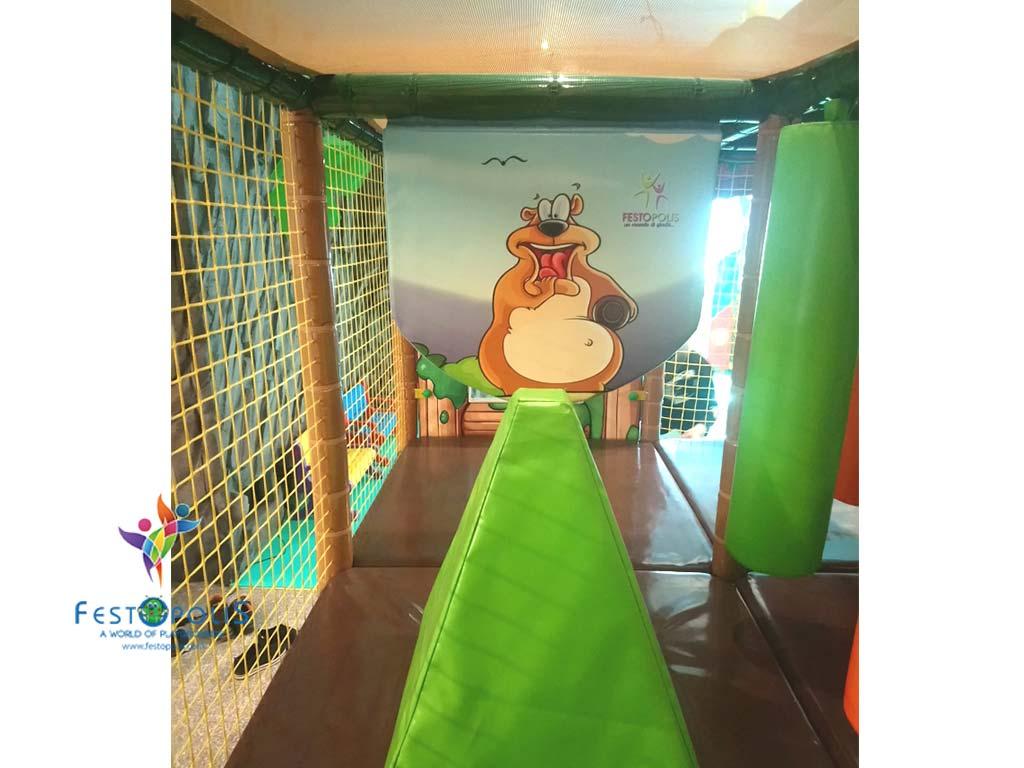 Playground uso interno Baby Jungle FEPI 023 B 2
