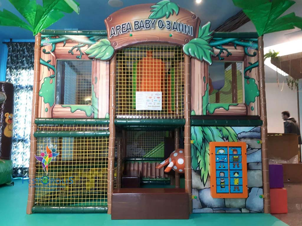 Playground uso interno Baby Jungle FEPI 023 B 5