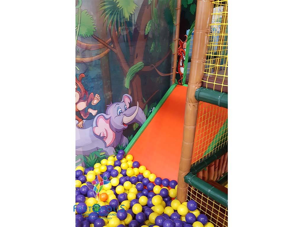 Playground uso interno Baby Jungle FEPI 023 B 6